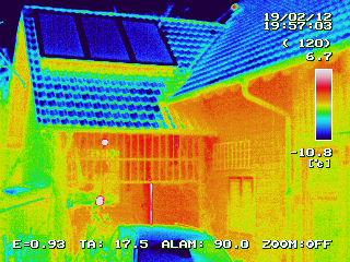 Gebäude-Thermografie in Feldmoching in München