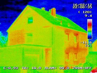 Gebäude-Thermografie in Unterschleißheim