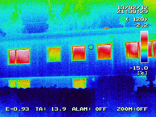 Gebäude-Thermografie in Fahrenzhausen