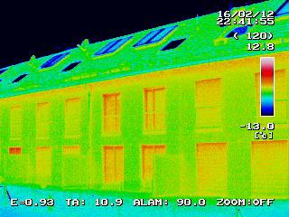Gebäude-Thermografie in Oberschleißheim