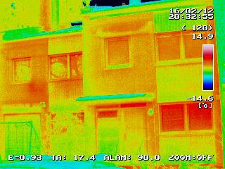 Gebäude-Thermografie in Neufahrn im Lkr. Freising