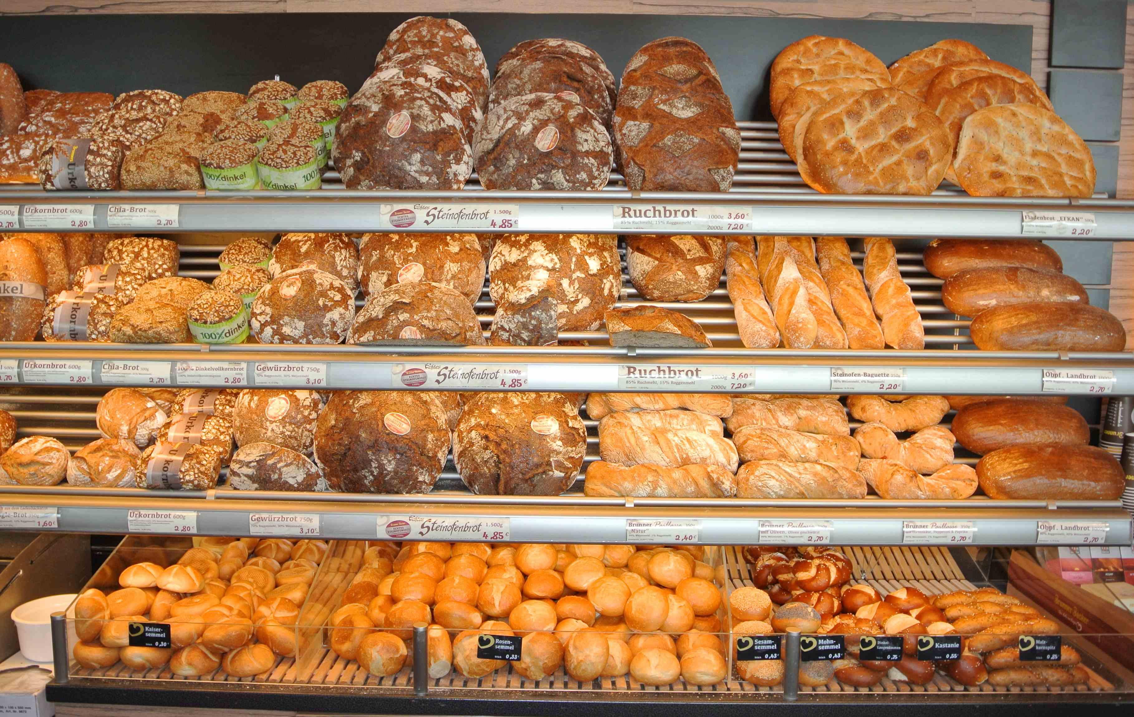 Zertifizierungsaudit für eine Bäckerei
