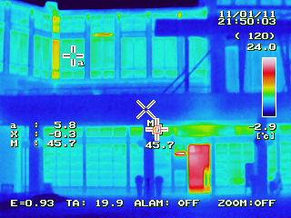 Thermografie-Aufnahme für Unternehmen in München