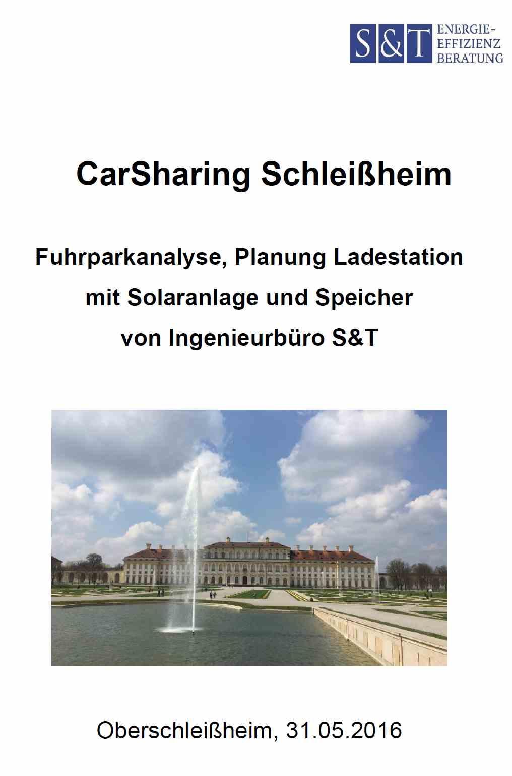 CarSharing Schleißheim