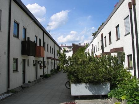 Modernisierung ein Reihenmittelhaus in Unterschleißheim