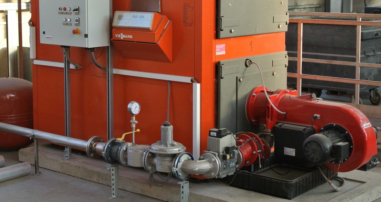 Effiziente Biomasse-Heizungsanlage