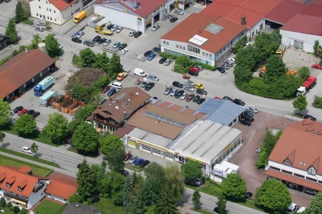 Energieeffizienzberatung für ein Autohaus mit Werkstatt und Lackierer im Lkr. Erding